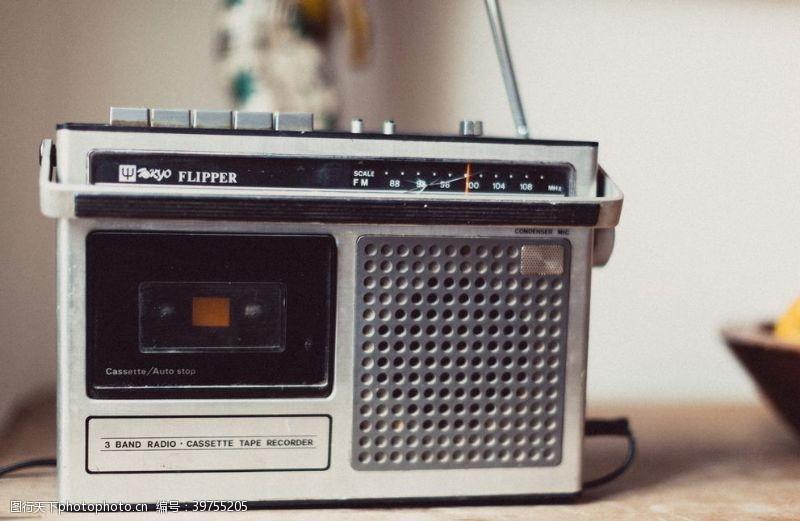 播放灰色FM收音机图片