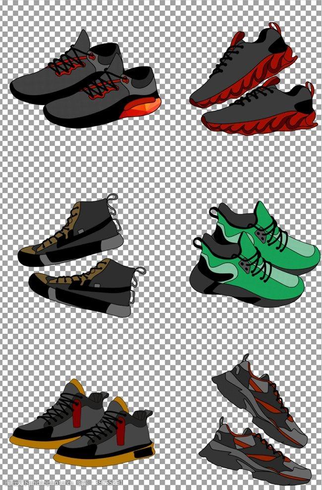 休闲鞋男士球鞋图片
