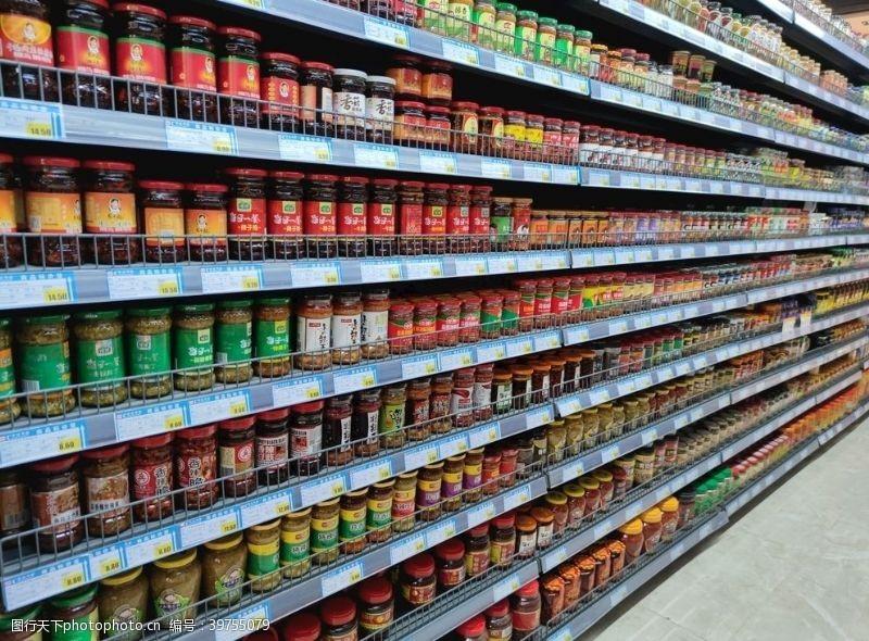 调味料超市图片