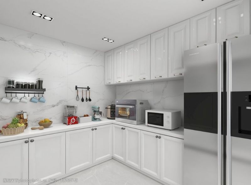 样板间厨房图片