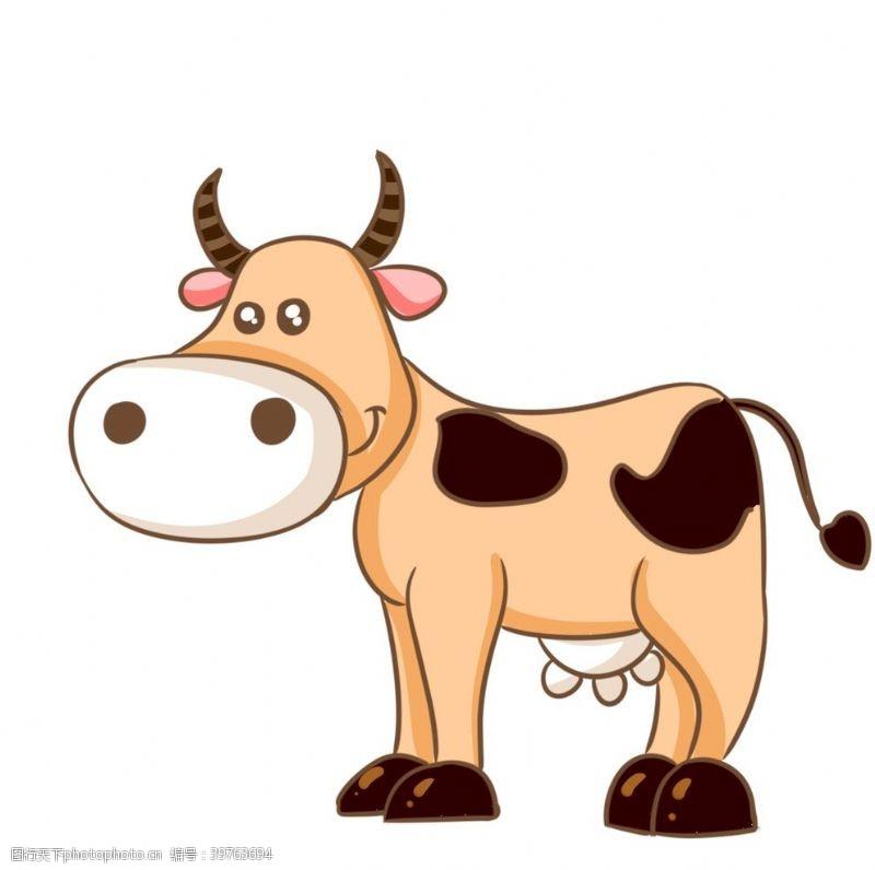 卡通牛图片设计