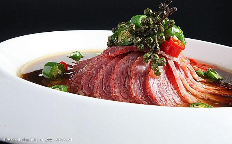 青花椒牛肉图片