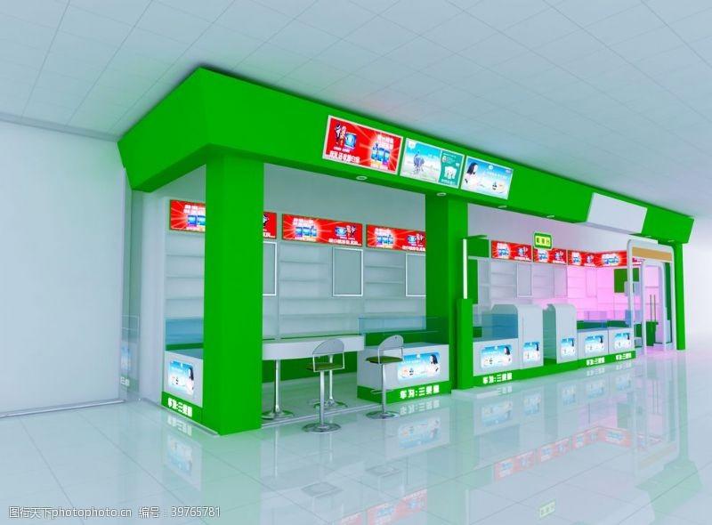 专柜商场装修效果图图片