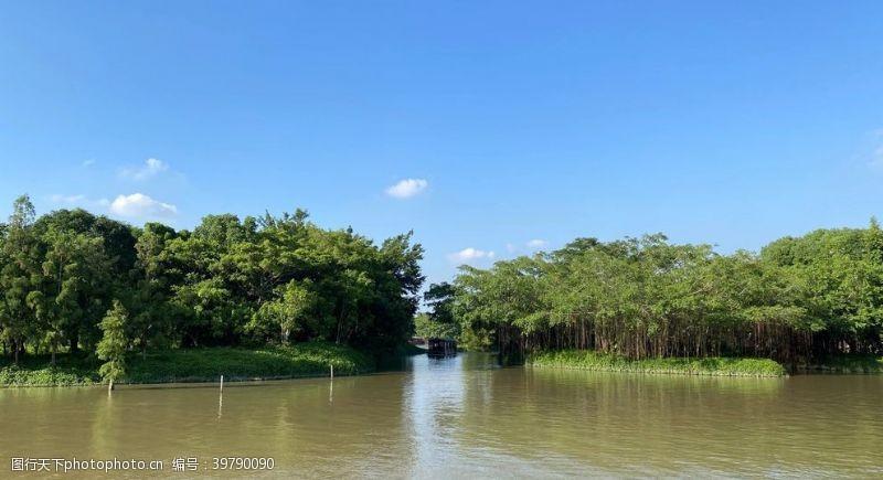 岛屿湖泊图片