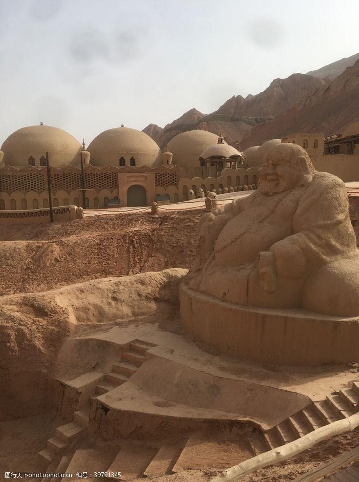 旅游风景吐鲁番旅游图片