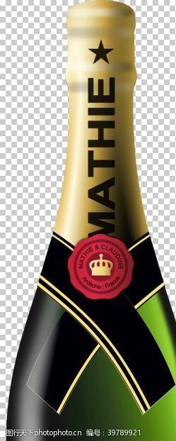 高脚杯香槟图片