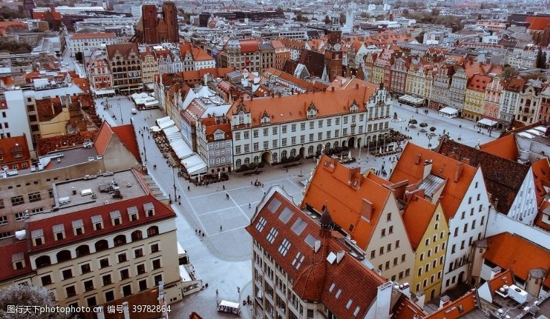 自助游波兰小镇东欧波兰波兰旅游图片