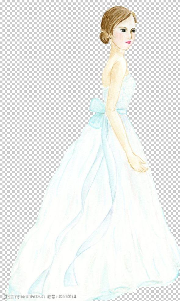 新婚新娘图片