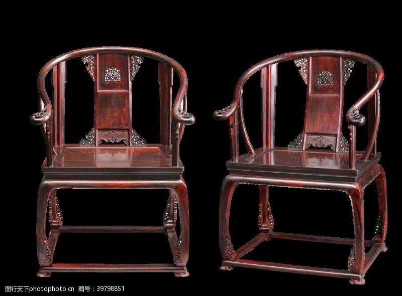 红木皇宫椅图片