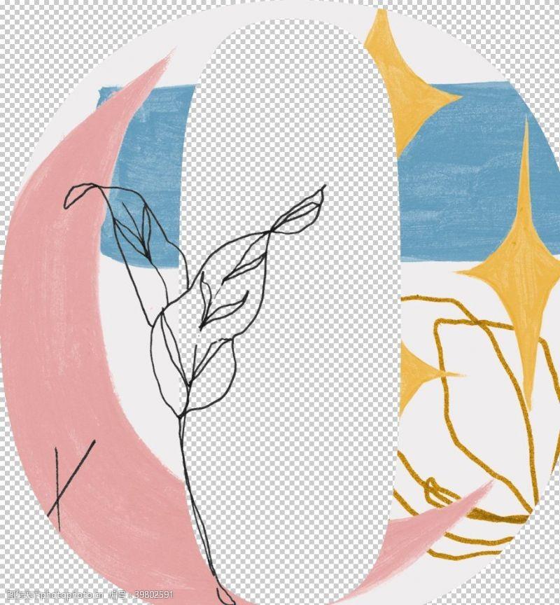 花纹字母图片