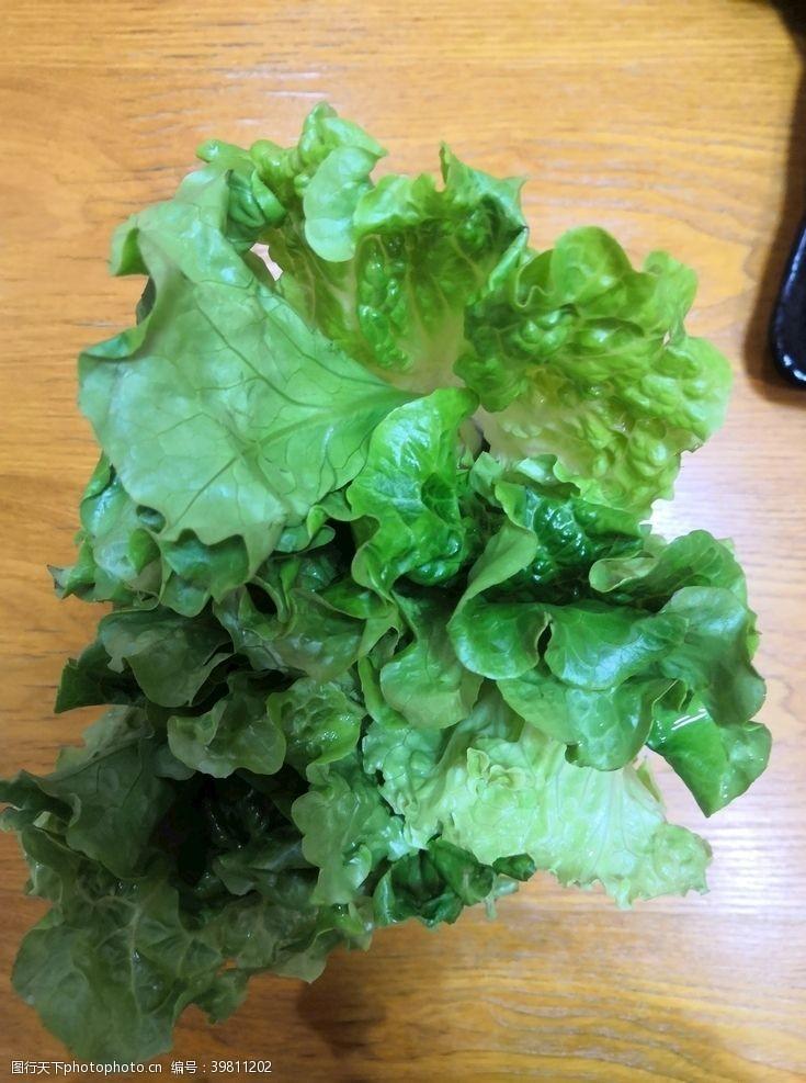 食物原料生菜图片