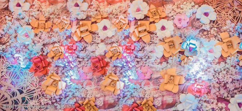 裝飾花朵背景圖片