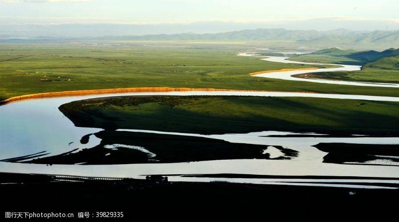 瀑布黄河图片