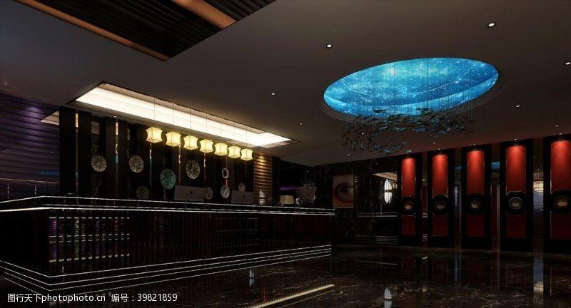 涂料KTV大厅图片