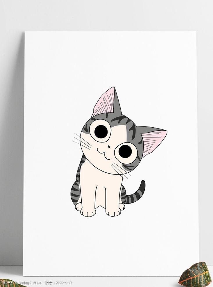 车起司猫图片