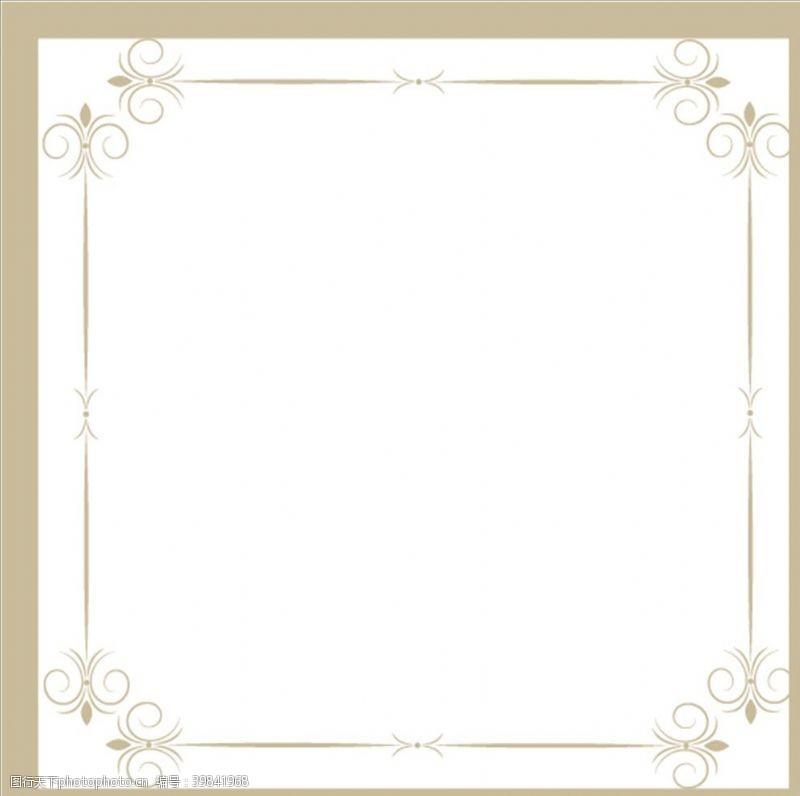 花纹边框边框图片