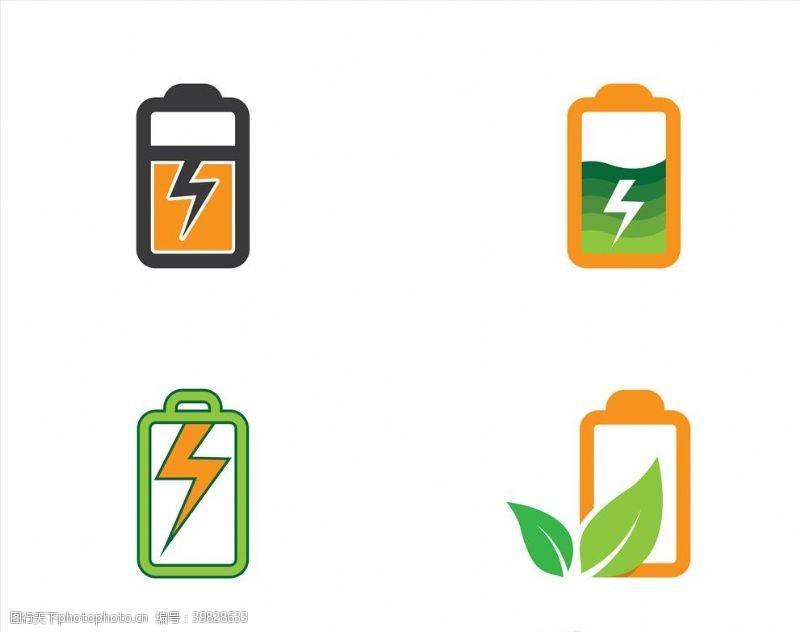 家庭生活电池图标图片