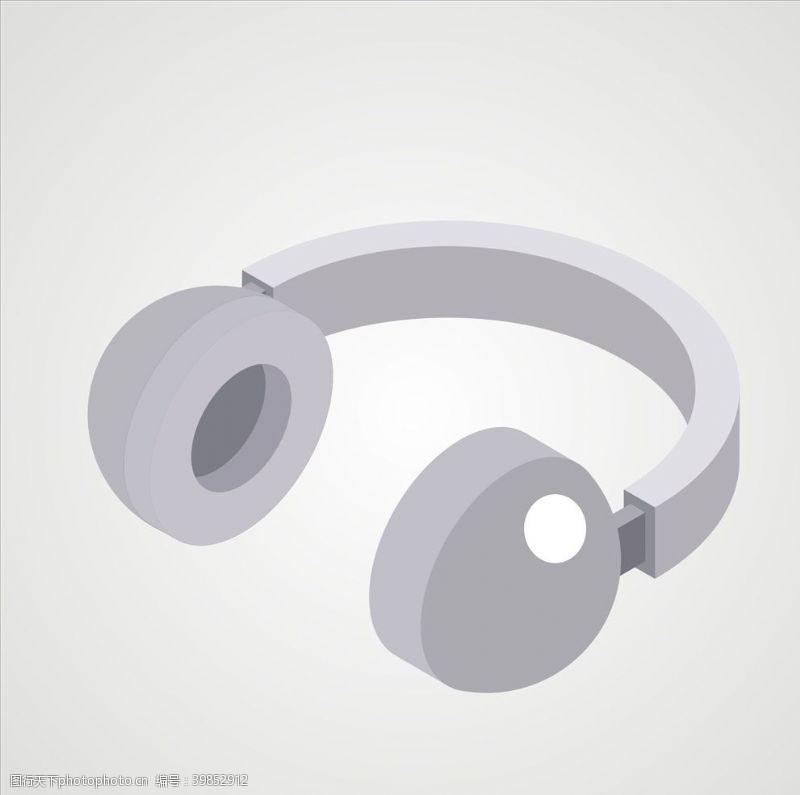 音乐素材耳机图片