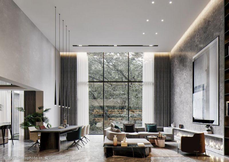 桌子高清吊顶客厅大图图片