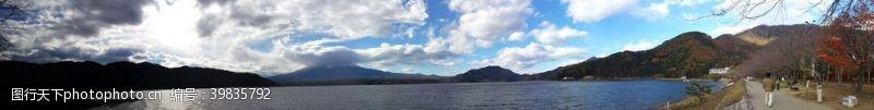 日本旅游日本河口湖图片