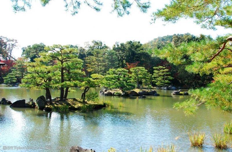 火山日本河口湖图片