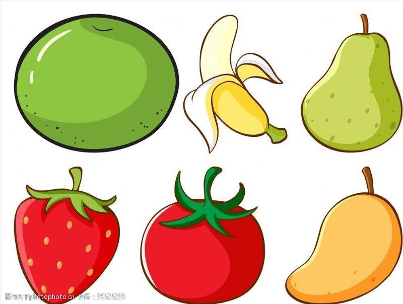 店铺矢量水果图片