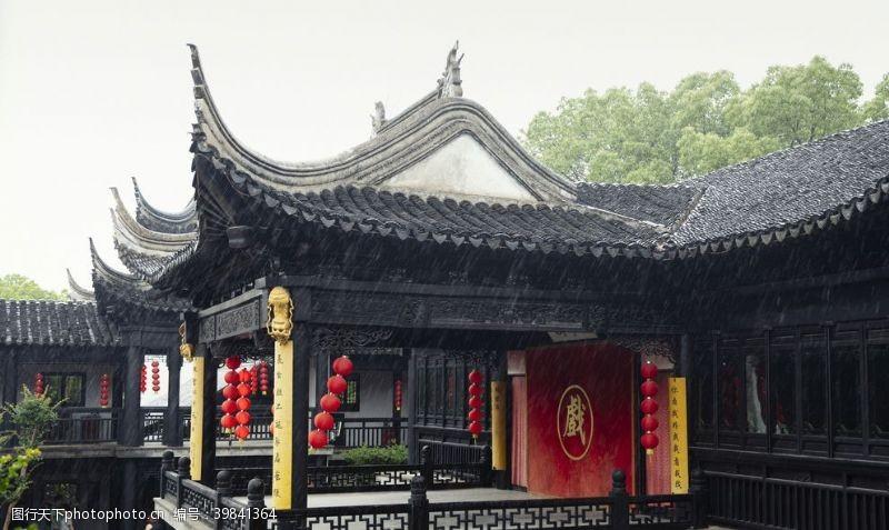园林素材苏州园林中式建筑图片