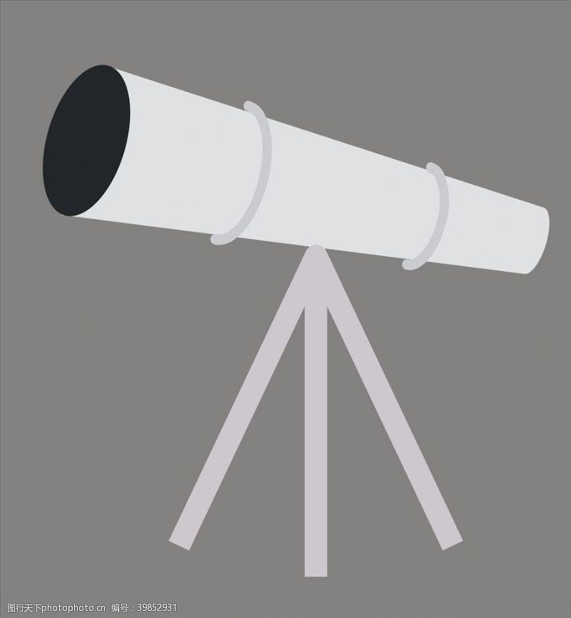 夜空天文望远镜图片