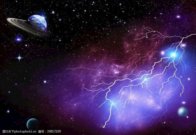 夜空星空星空背景图片