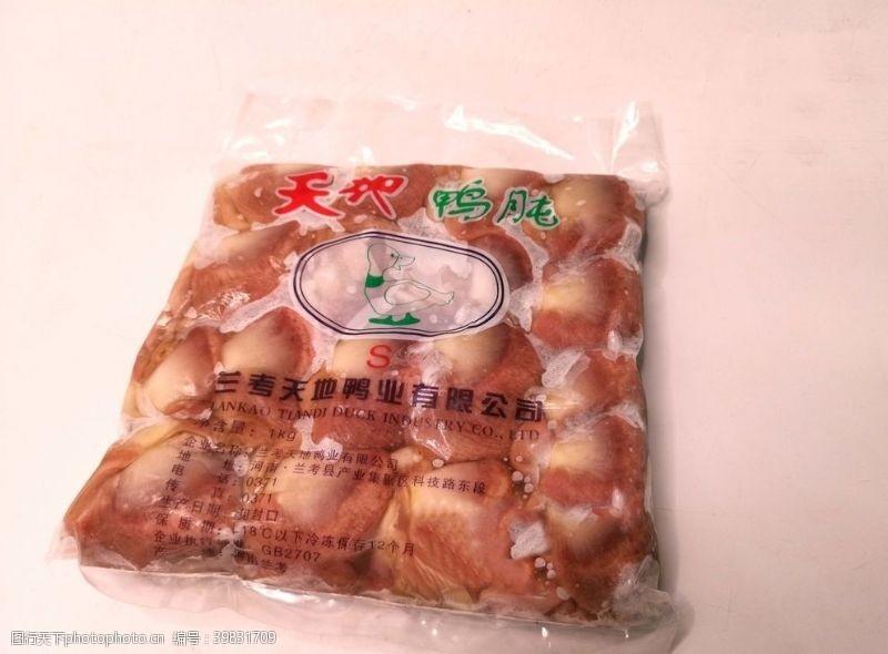 食物原料鸭肉图片
