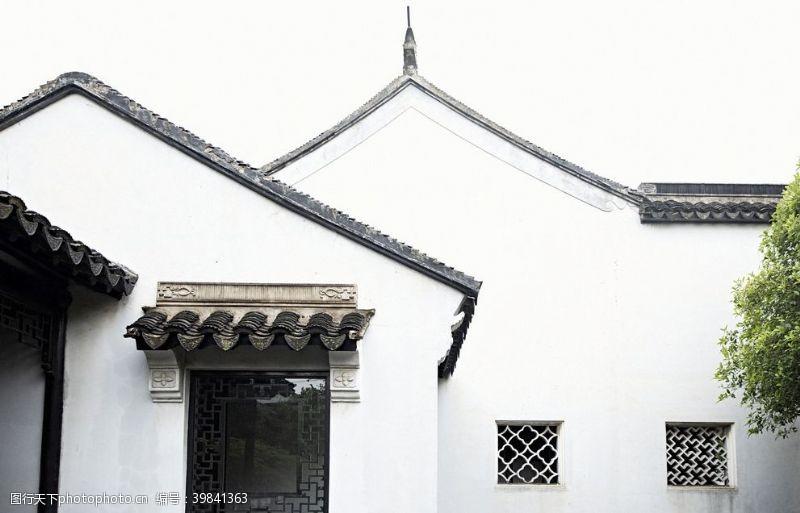 园林素材中式建筑苏州园林图片