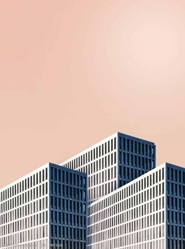 城市剪影缤纷城市彩色城市图片