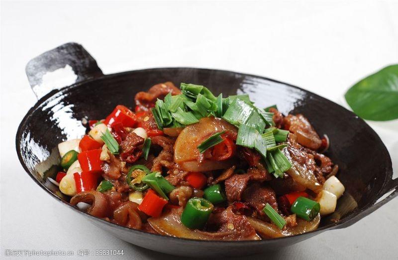 干锅牛肉图片
