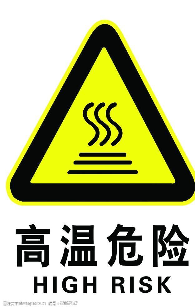 高温危险图片
