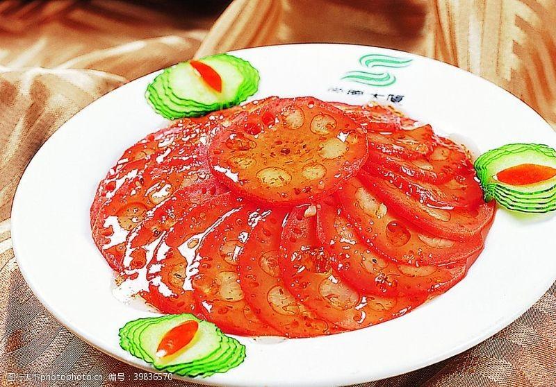 桂花蜜藕图片
