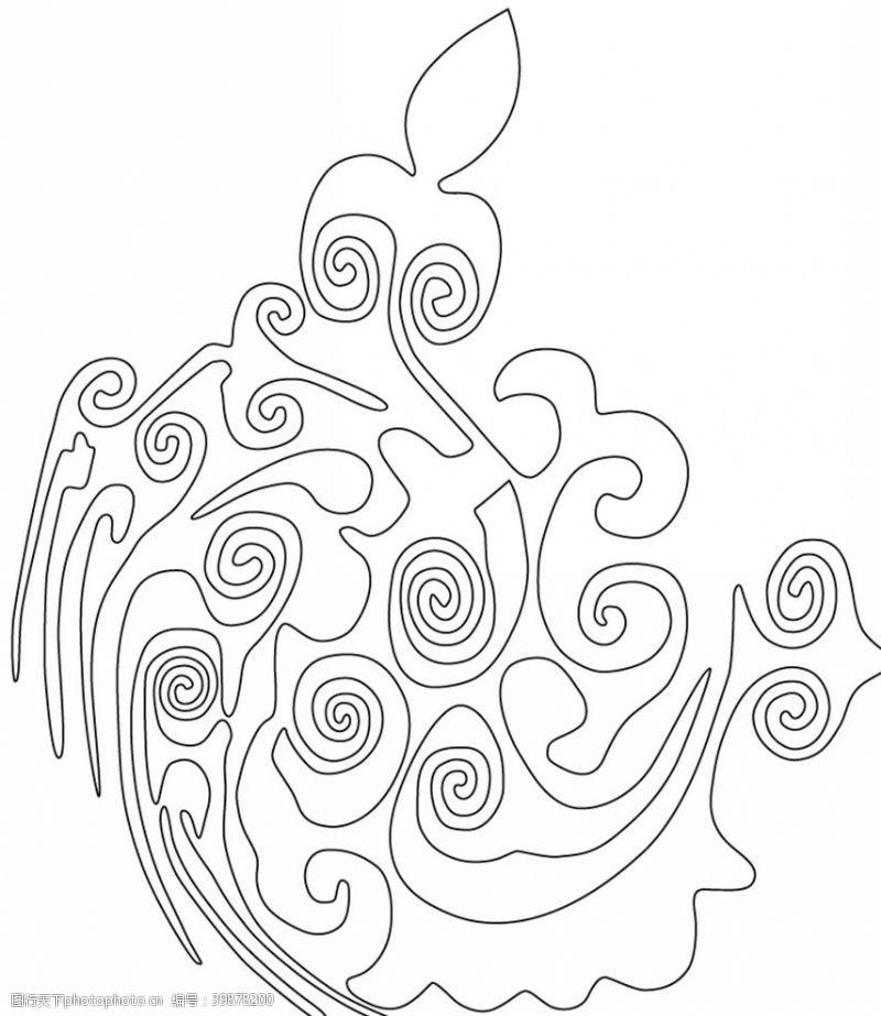 布艺花纹图片