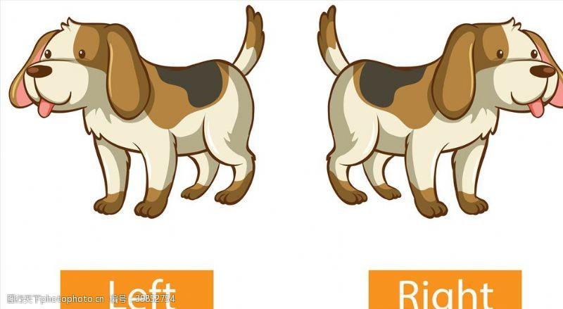动物世界卡通狗图片