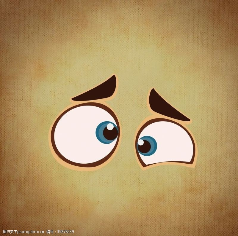 矢量卡通眼睛背景图片