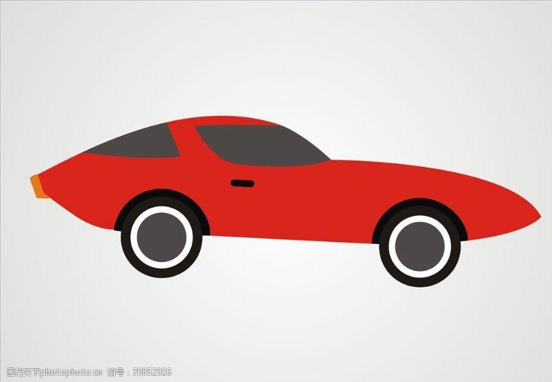 跑车汽车矢量跑车图片