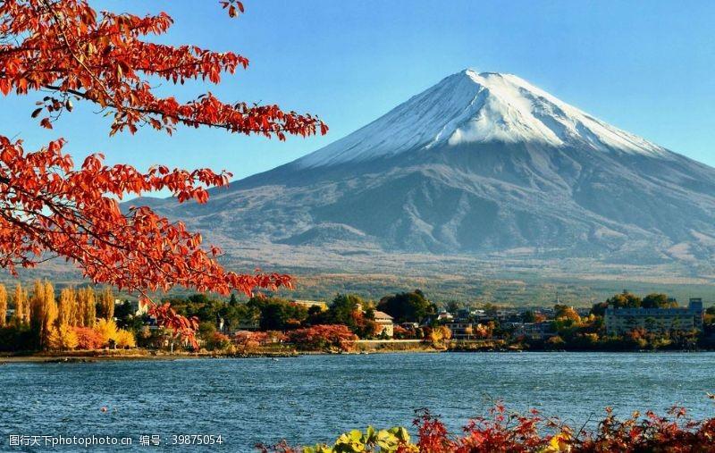 火山日本富士山图片