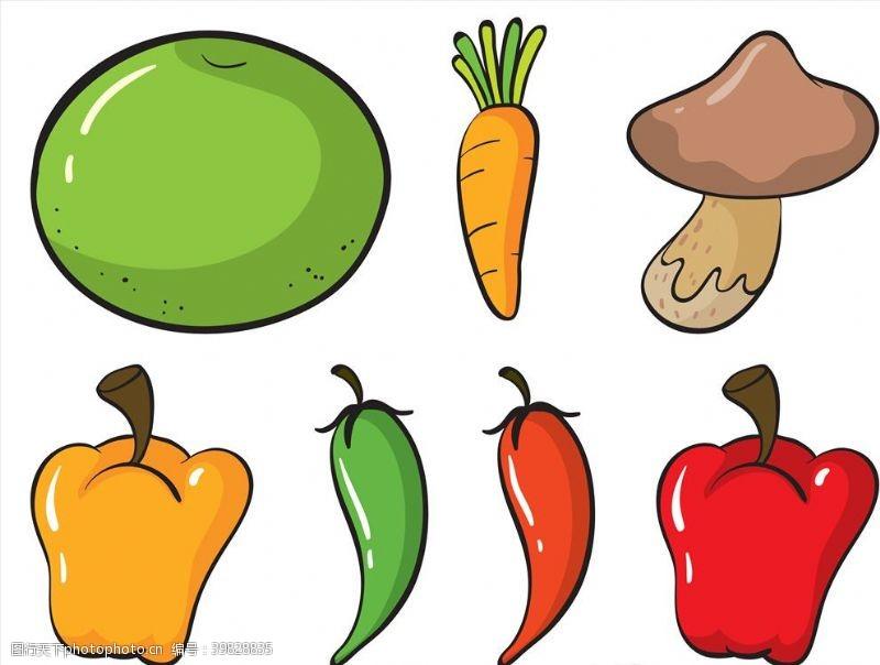 店铺矢量蔬菜图片