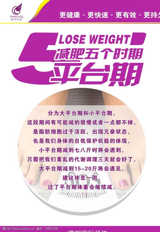 美容美体瘦邦纤体减肥五个时期平台期图片