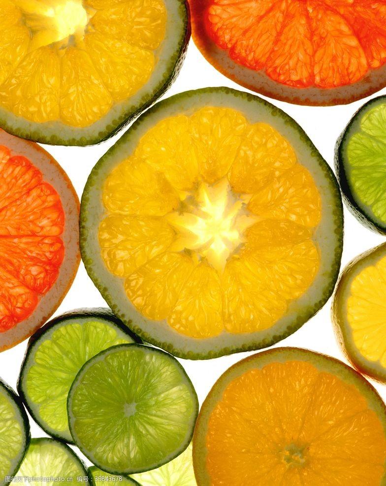 果片水果切面图片