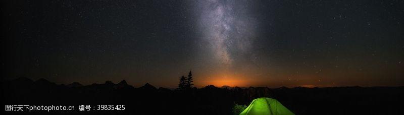 夜晚的天空夜空图片