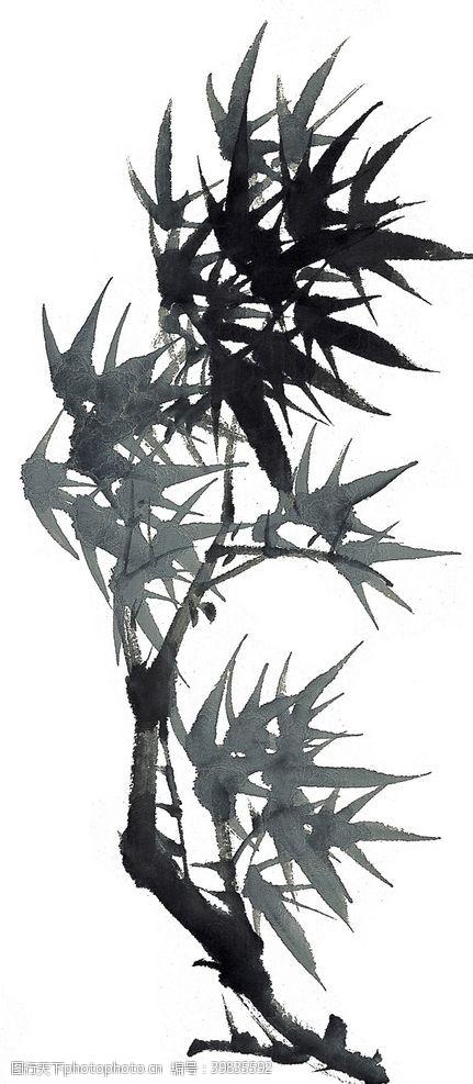 水墨竹子竹子图片