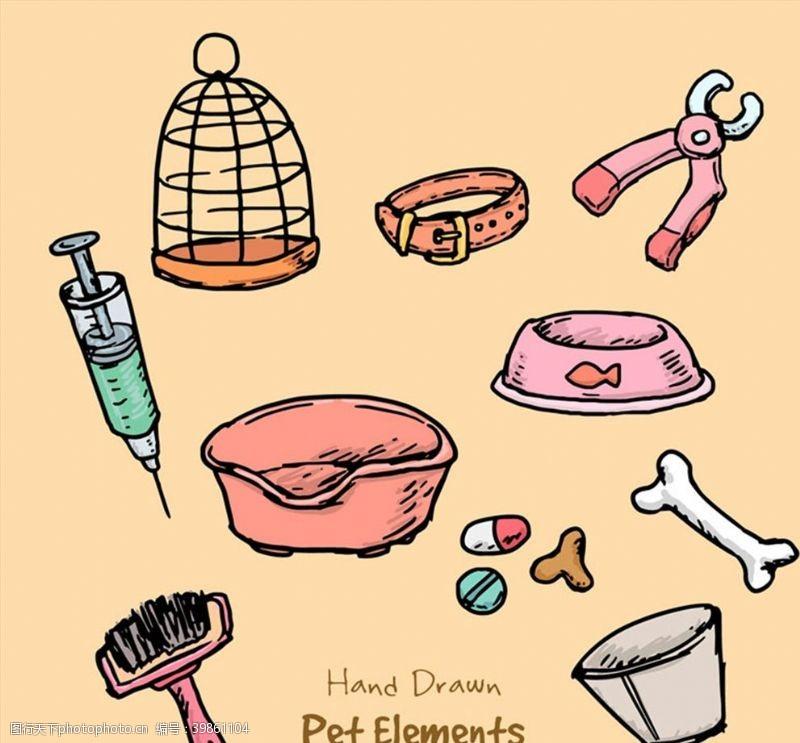 彩绘宠物用品图片