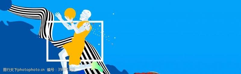 俱乐部插画篮球比赛图片