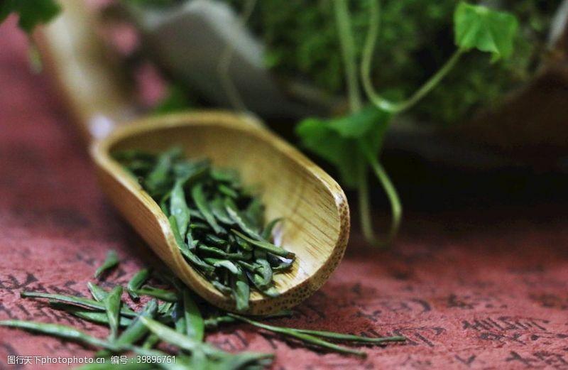 翠芽明前茶图片