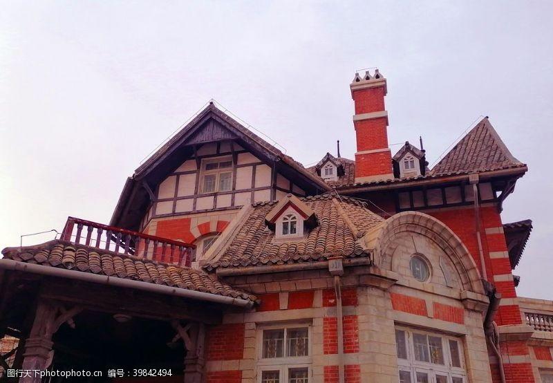 欧洲建筑大连美术馆的俄式建筑图片
