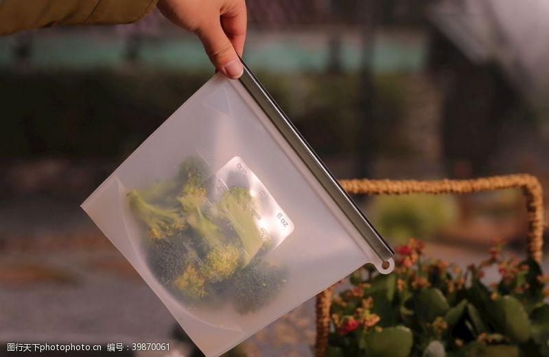 高温硅胶密封袋食品级加厚耐图片